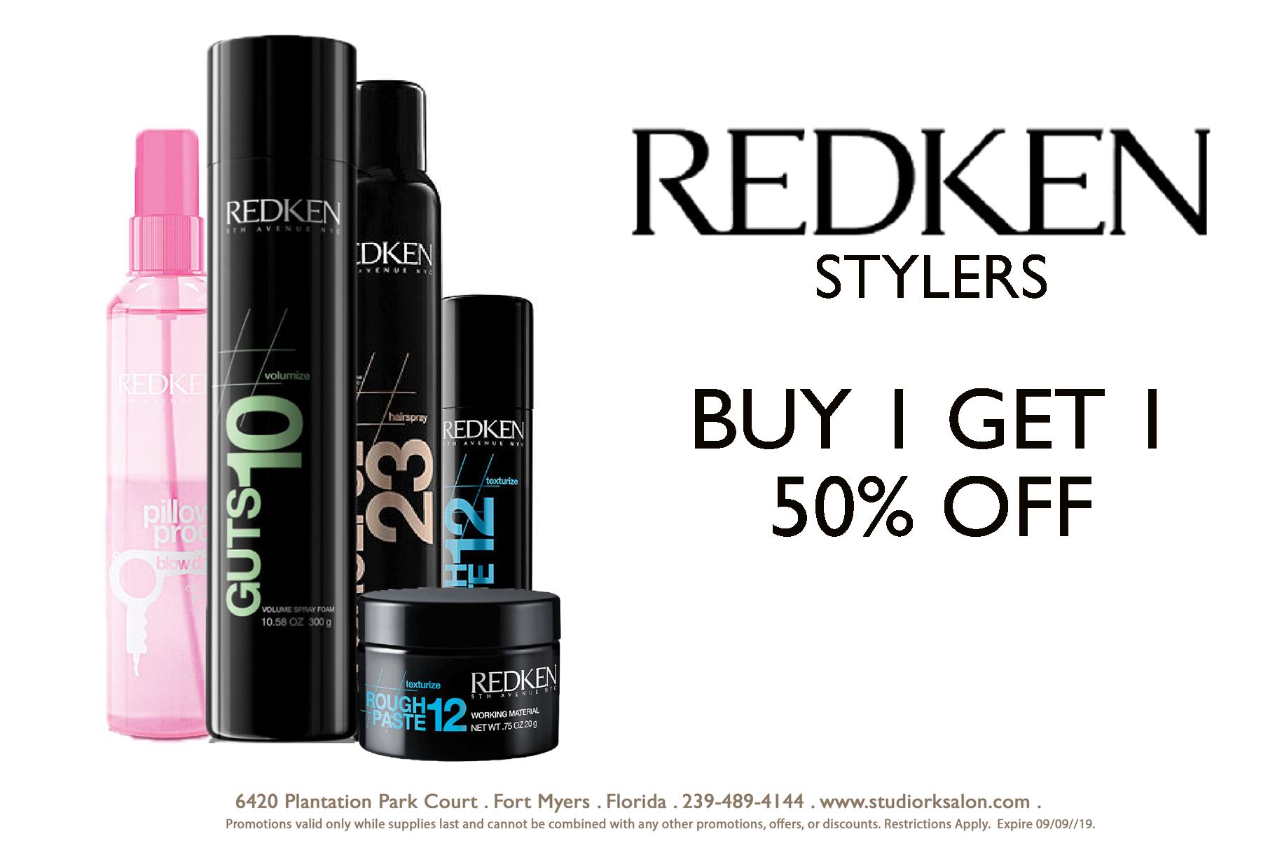RedKen Buy One Get One 50% Off Promotion