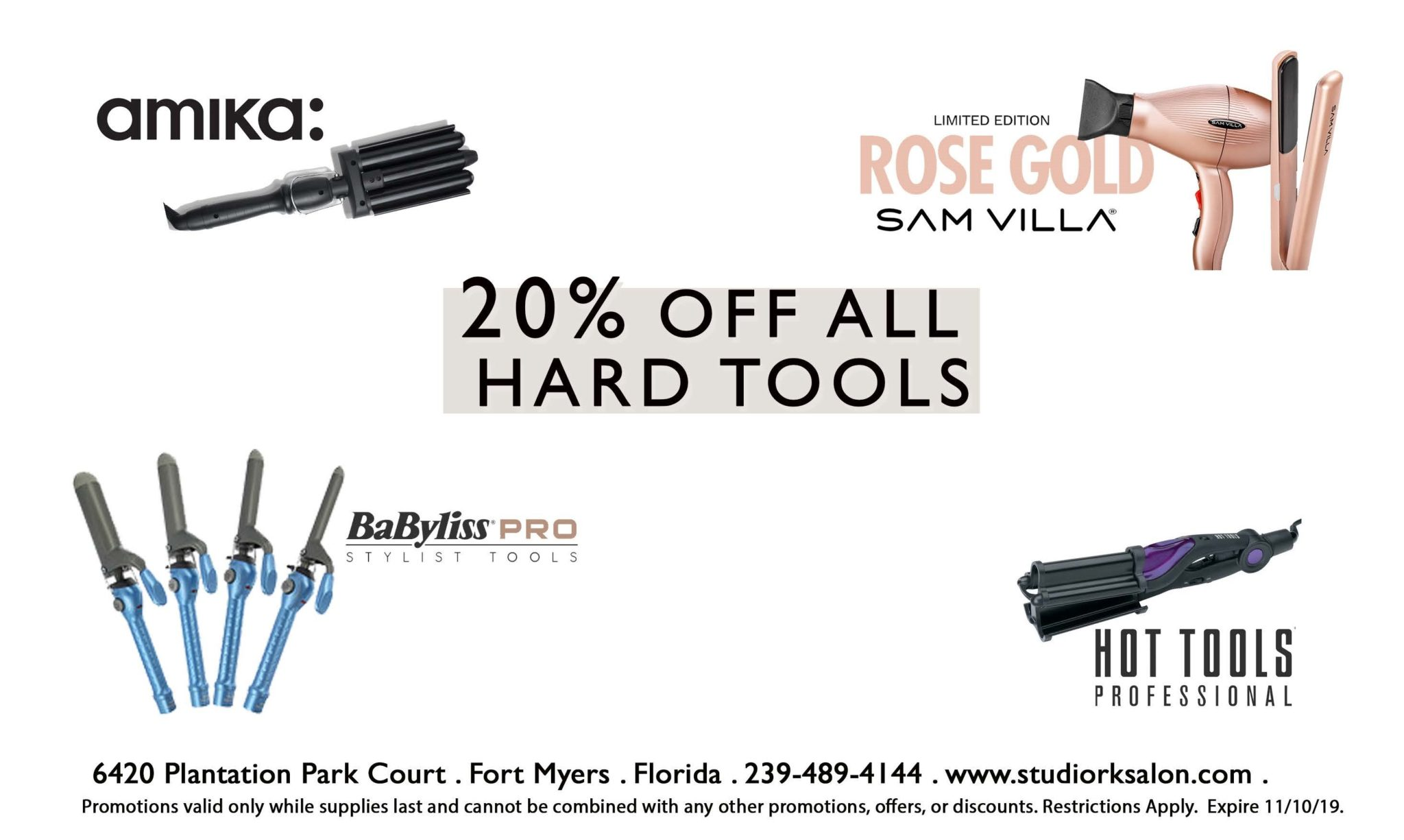 20% Off All Hot Tools